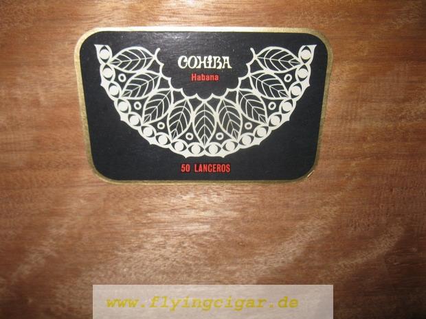 extremely rare cohiba lanceros 0810 06