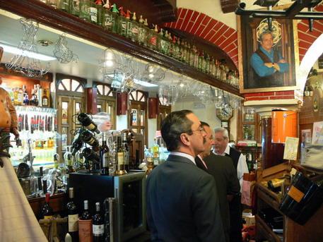 2006 04 dinner club de los 100 puros madrid flying cigar a cigar travel blog - Casa perico madrid ...
